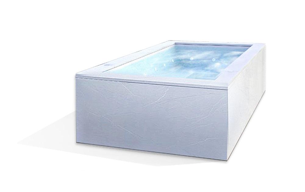 minipiscina vasca nuoto controcorrente