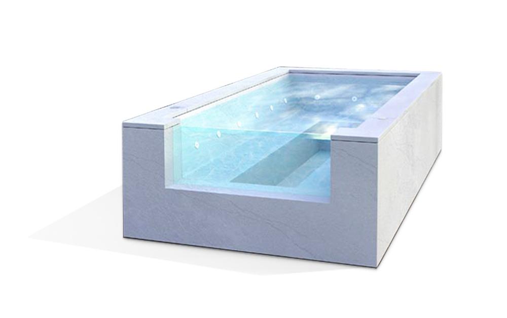 minipiscina nuoto controcorrente