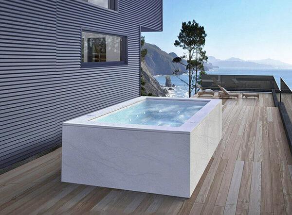 vasche da esterno 6 posti giardino terrazzo